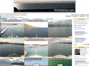 ShipWatcher Webcams - Live Webcams of Cruise Ships