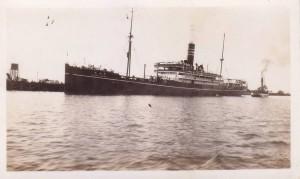 Kamo Maru  Leaving Pinkenba 04.06.1934