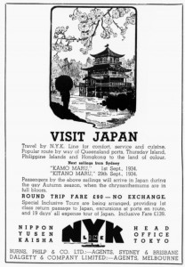 nyk ad sydney Mail 11 Jul 1934