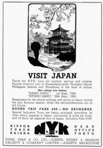 nyk ad sydney Mail 11 Jul 1934